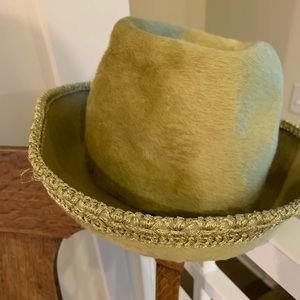 Michael Terre Accessories - Michael Terre So. Ca. Lime Vintage Hat. 7-3/4.